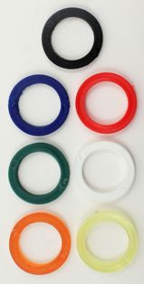 Colored Washers 1/2