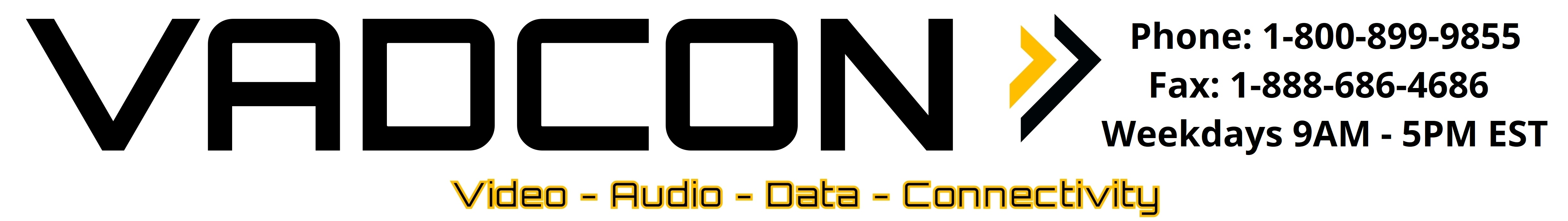 VADCON Logo and Website Header