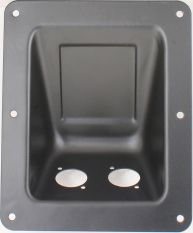 RDP6BX2D RJ45 Cat6 Recessed Dish Plate