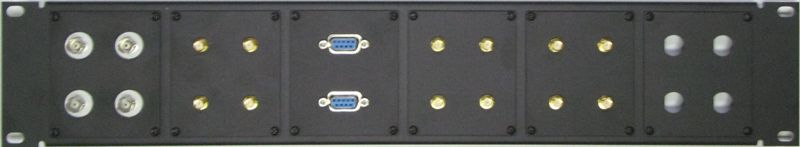 Module Plate Patch Panel Sample 4