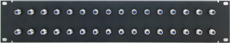 PPD32-FB2IS - F Patch Panel Front View