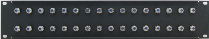 PPD32-FB2IS - F Patch Panel Rear View