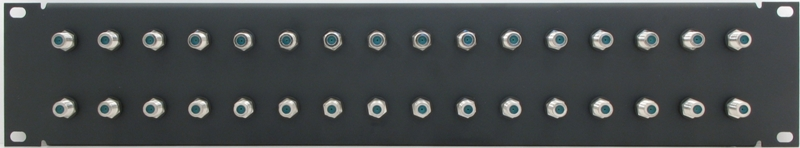 PPD32-FB3IS - F Patch Panel Front View