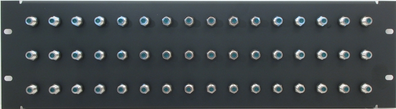 PPD48-FB3IS - F Patch Panel Front View