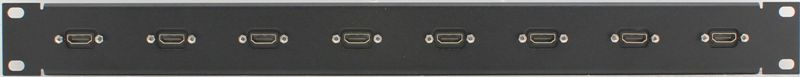 PPG8-HDMI - HDMI Patch Panel Front View
