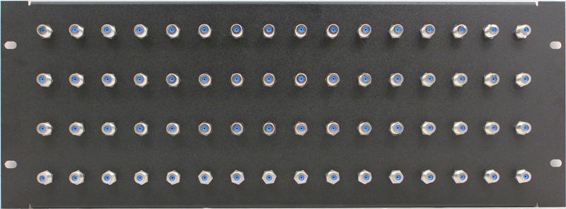 PPR64-FB2 - F Patch Panel Front View