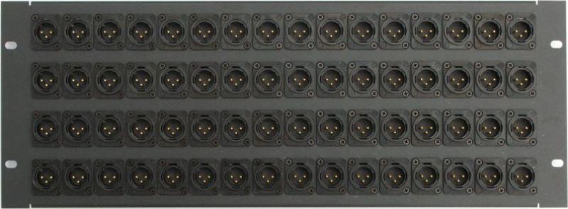 xlr wall patch panel